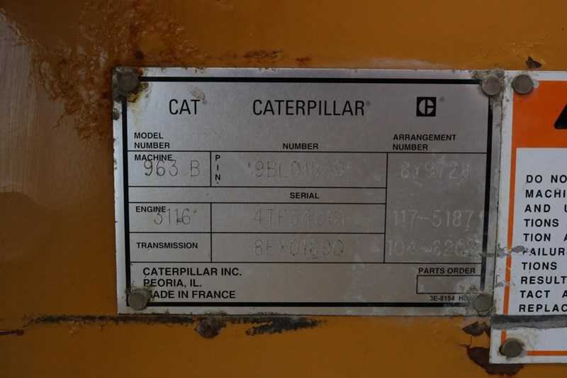 1997 Caterpillar 963B Image 38