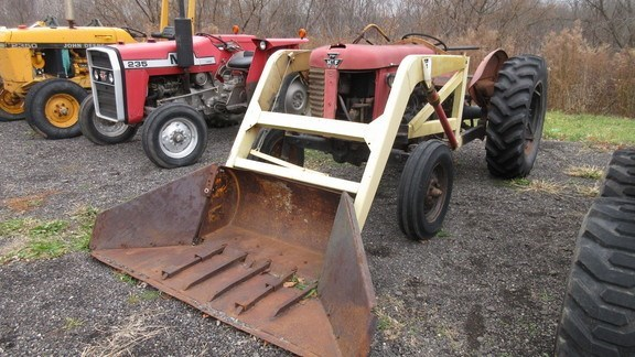 1958 Massey Ferguson 65 Tractor - Utility For Sale