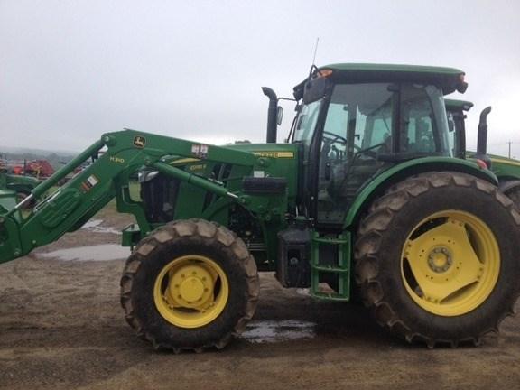 2016 John Deere 6135E Tractor For Sale
