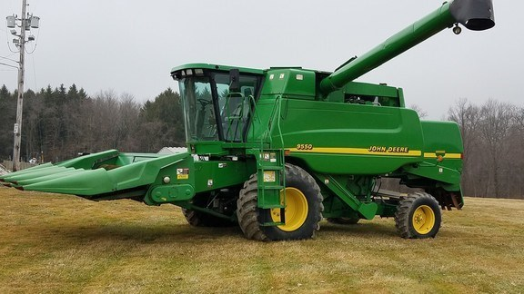 2000 John Deere 9550 Combine For Sale