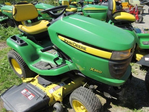 2009 John Deere X360 Lawn Mower For Sale