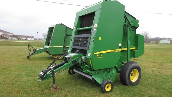 2014 John Deere 469 Silage Special Baler-Round For Sale