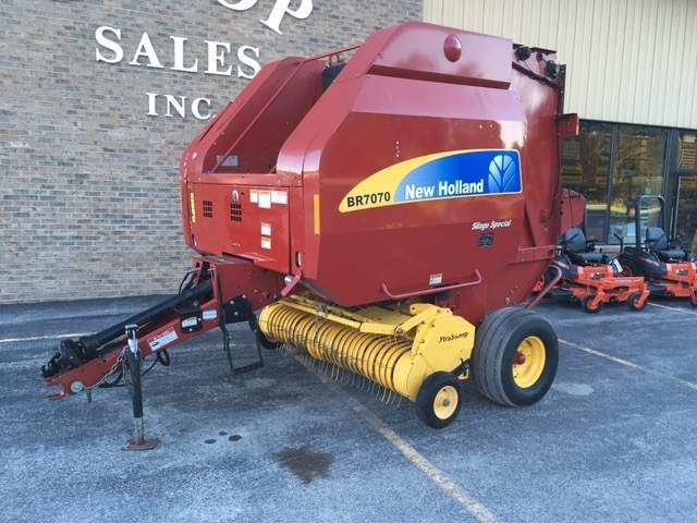2012 New Holland BR7070 Baler-Round For Sale