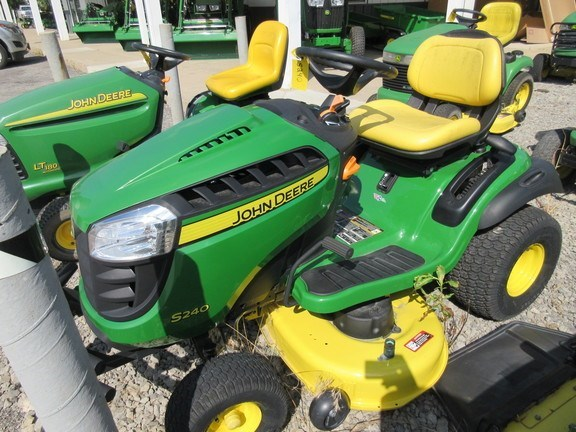 2017 John Deere S240 Lawn Mower For Sale