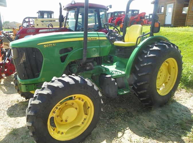 2010 John Deere 5075M Tractor For Sale
