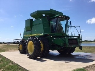 2004 John Deere 9660 CTS Combine For Sale