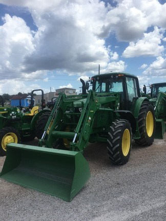 2014 John Deere 6125M Cab Tractor For Sale