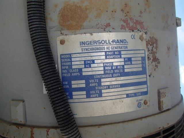 Ingersoll Rand 75 KVA Image 3