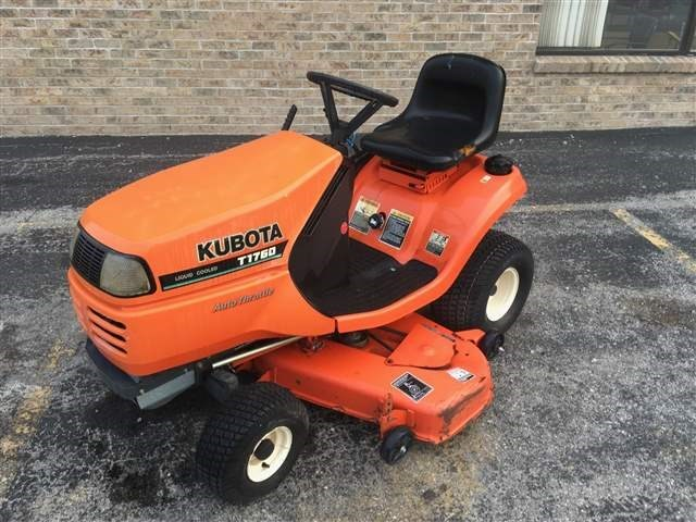 Kubota T1760 Riding Mower For Sale