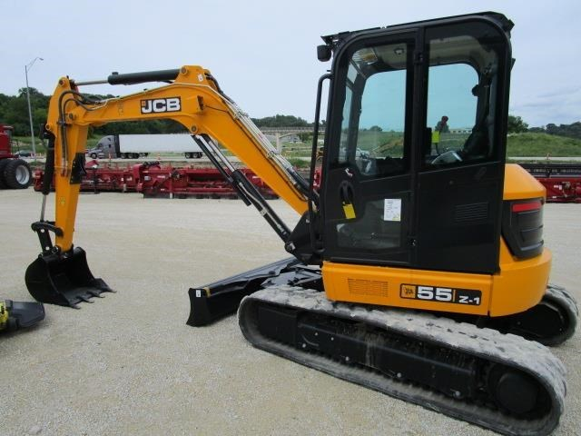 2017 JCB 55Z-1 T4 Excavator-Track For Sale