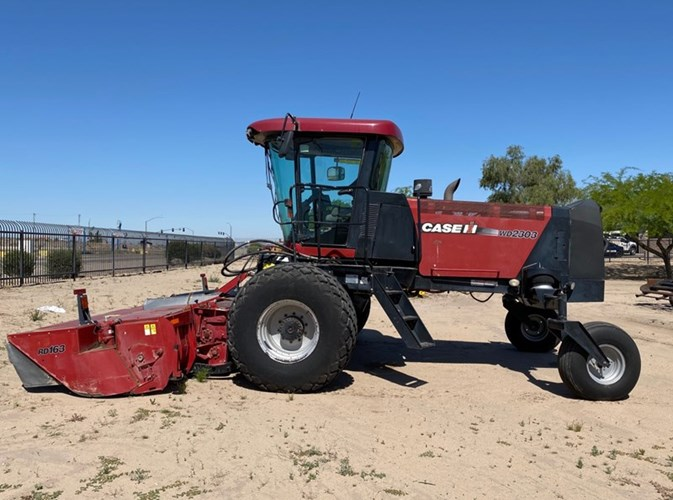 2013 Case WD2303 Windrower-Self Propelled For Sale