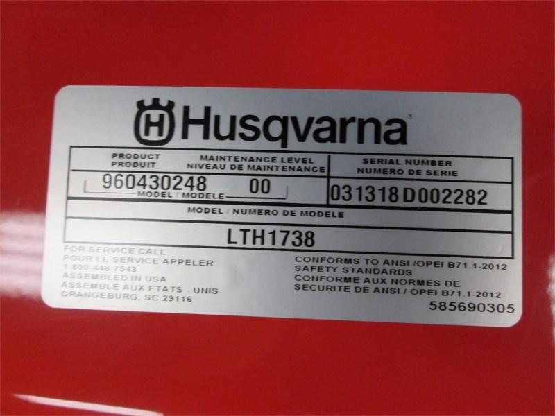2018 Husqvarna LTH1738 Image 2
