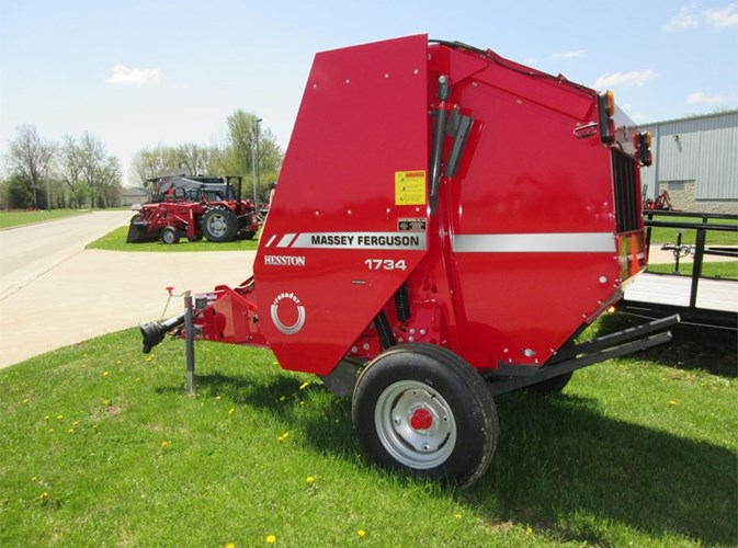 2018 Massey Ferguson 1734 Baler-Round For Sale