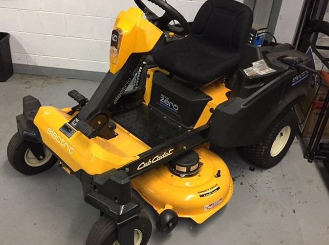 Cub Cadet RZTS  42 Electric Riding Mower For Sale