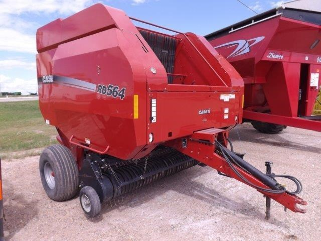 Case IH RB564 Baler-Round For Sale
