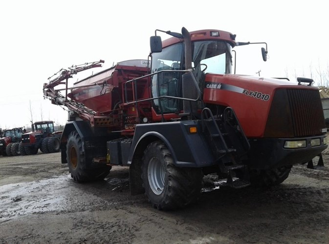 2005 Case IH FLX 4010 w/FLx810 Floater/High Clearance Spreader For Sale