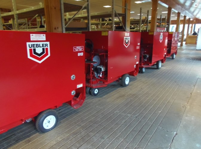 Uebler 812 Feed Cart For Sale