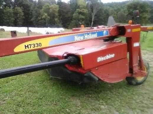 2010 New Holland H7330 Mower Conditioner For Sale
