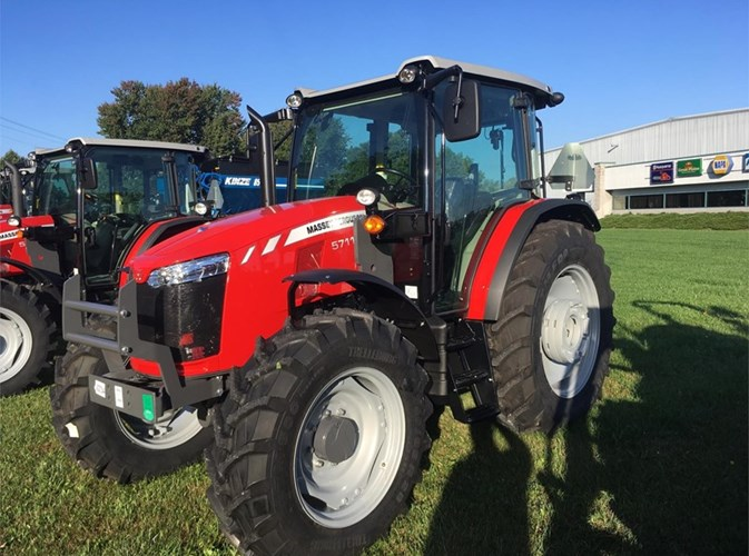 2018 Massey Ferguson 5711 Tractor For Sale