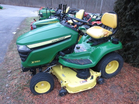 2017 John Deere X380 Lawn Mower For Sale