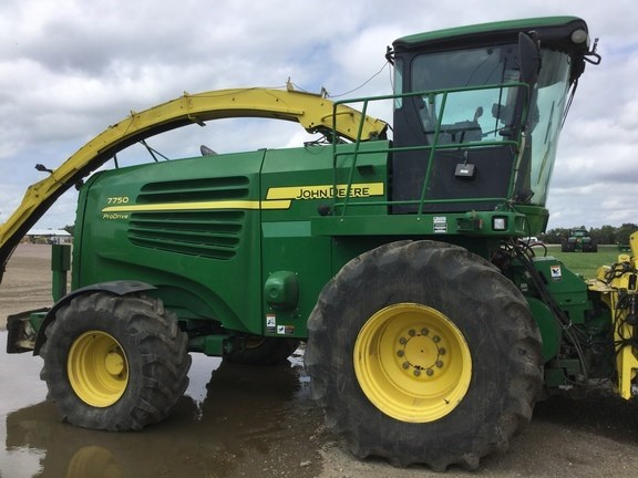 2008 John Deere 7750 Forage Harvester-Self Propelled For Sale