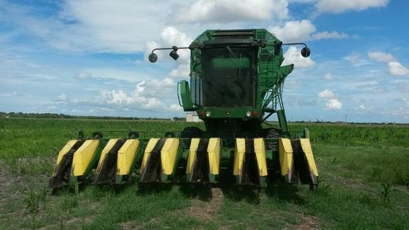1988 John Deere 7445 Cotton Stripper For Sale