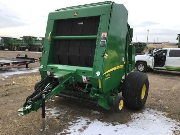 2015 John Deere 569 Baler-Round For Sale