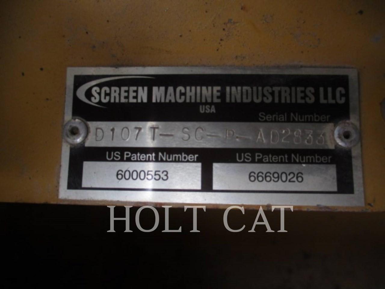 2014 Screen Machine 107T Image 6