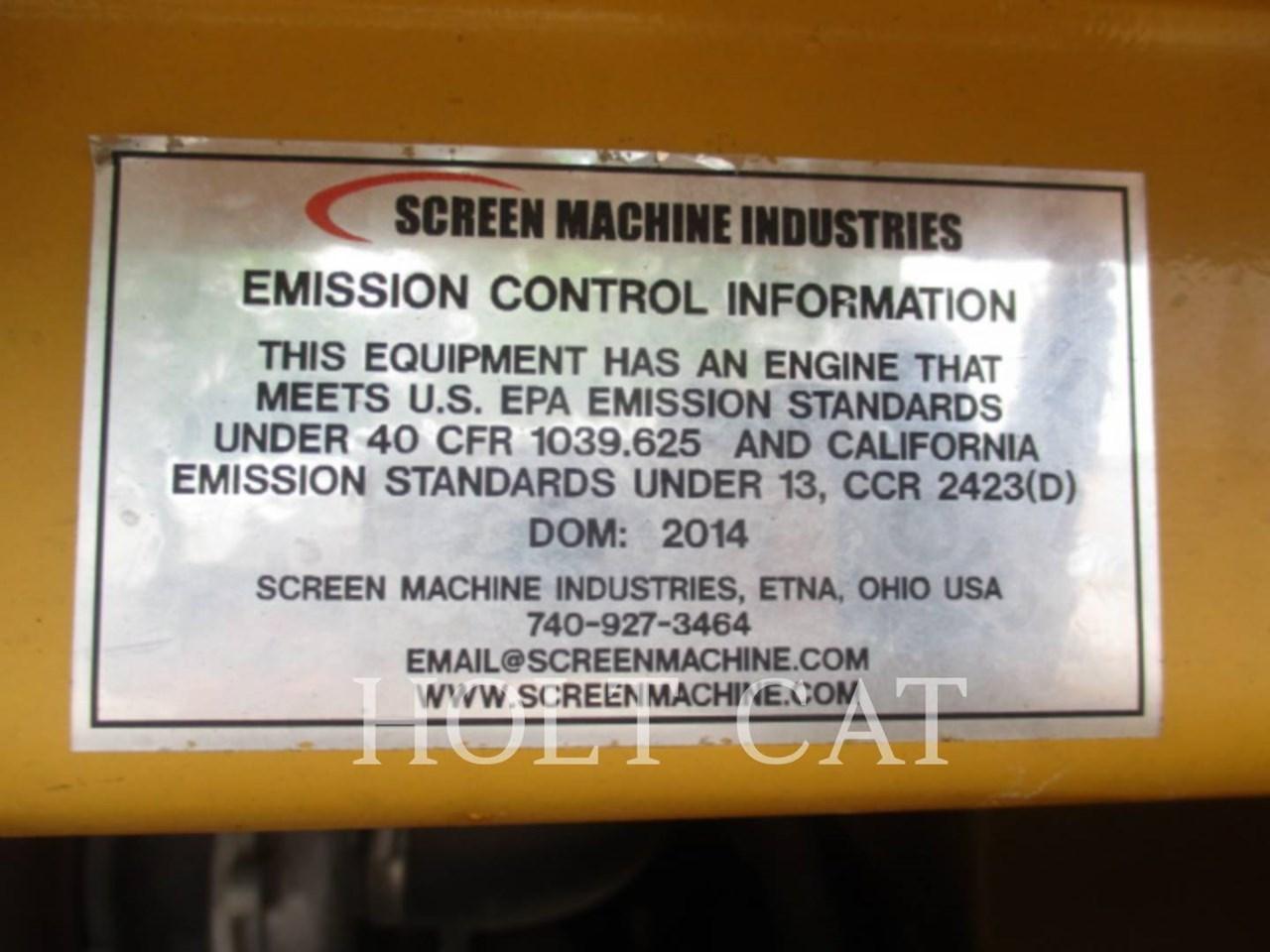 2014 Screen Machine 107T Image 8