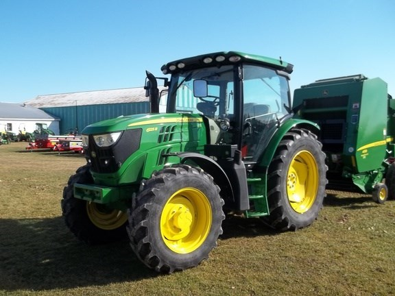 2015 John Deere 6125R Tractor For Sale