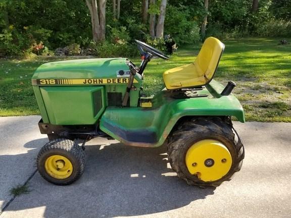 1988 John Deere 318 Lawn Mower For Sale