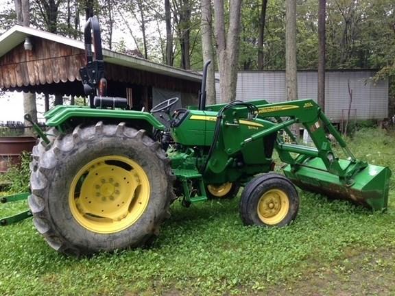 2012 John Deere 5075E Tractor For Sale