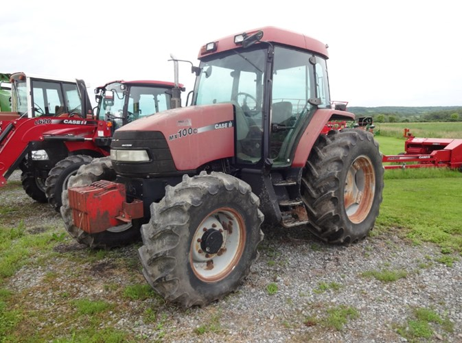 2001 Case IH MX100C Tractor For Sale