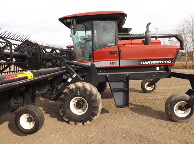 2002 Harvest Pro 8150 Windrower For Sale