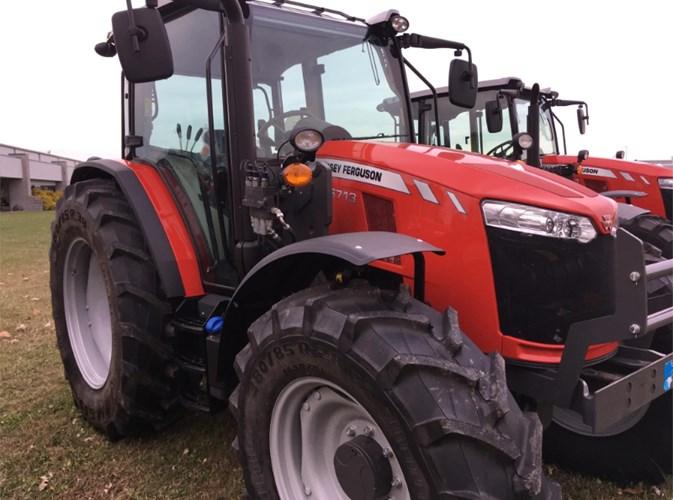 2018 Massey Ferguson 6713 Tractor For Sale