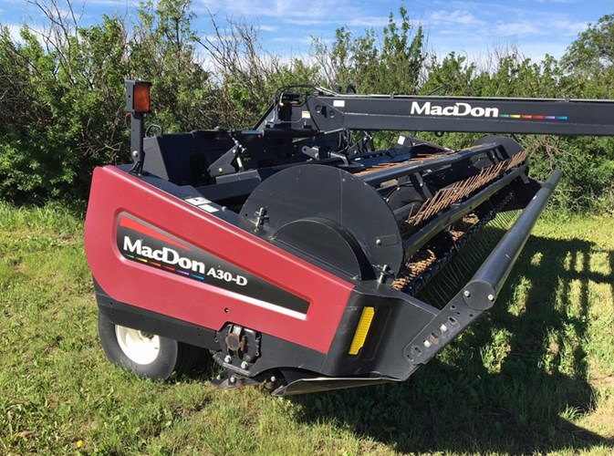 2011 MacDon A30-D Mower Conditioner For Sale
