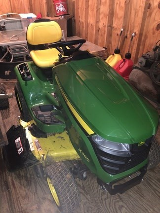 2012 John Deere X380 Riding Mower For Sale