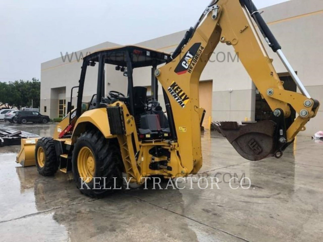 2018 Caterpillar 415F2ST Image 3