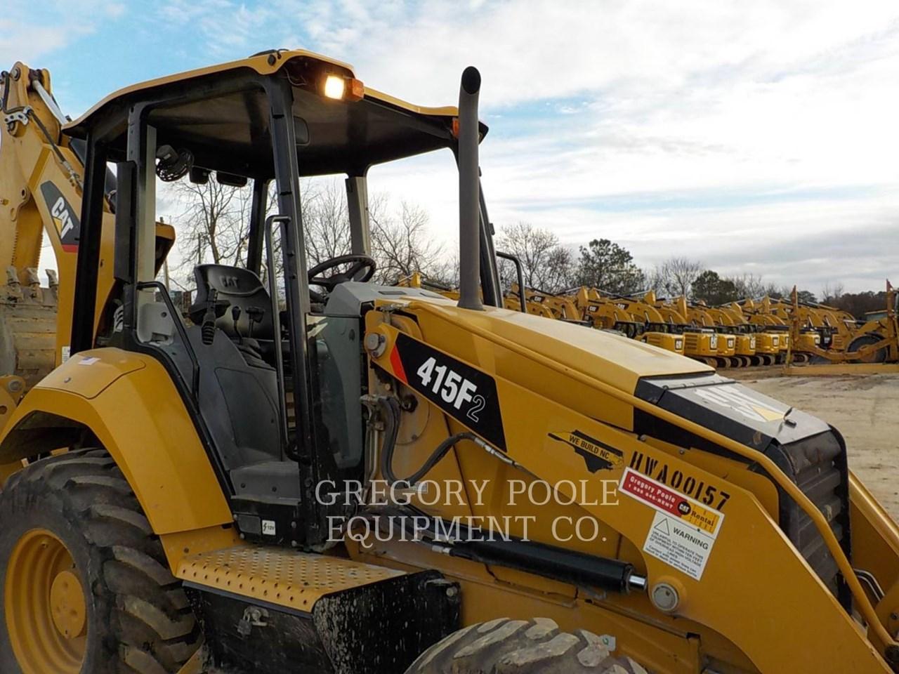 2015 Caterpillar 415F2 Image 4