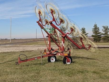 H & S 10W Hay Rake-Wheel For Sale