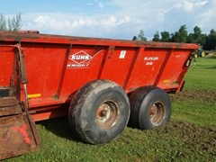 Manure Spreader-Dry/Pull Type For Sale 2009 Kuhn Knight 8118T