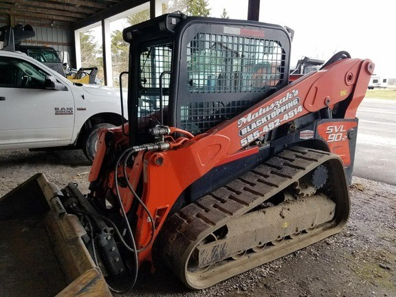 2012 Kubota SVL 90-2 Skid Steer-Track For Sale