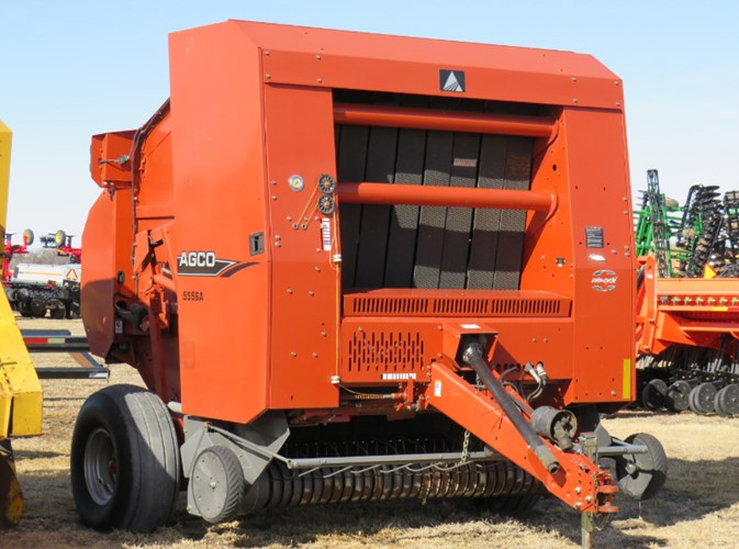 2009 Agco 5556A Baler-Round For Sale