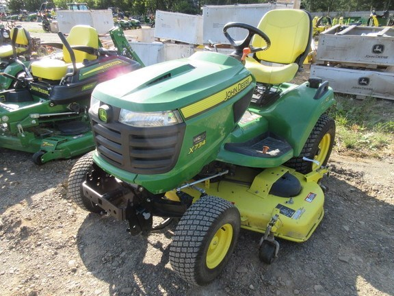 2013 John Deere X734 Lawn Mower For Sale