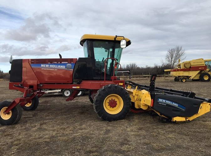 2014 New Holland Speedrower 130 Windrower For Sale