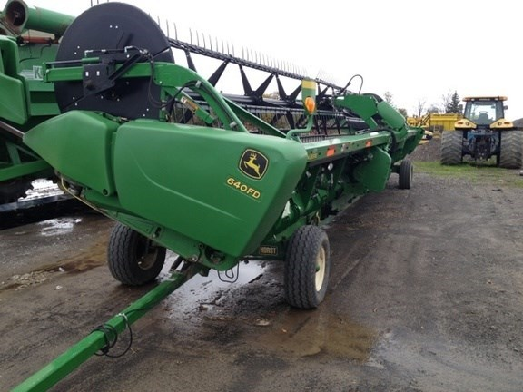 2012 John Deere 640FD Combine Header-Draper/Flex For Sale