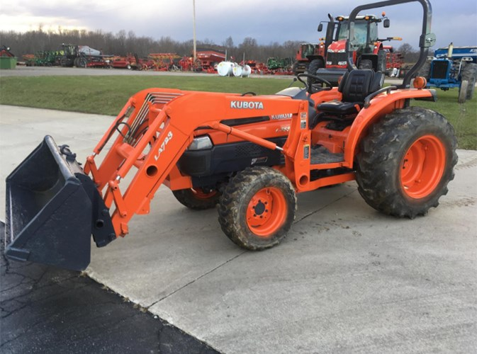 2003 Kubota L3830D Tractor For Sale