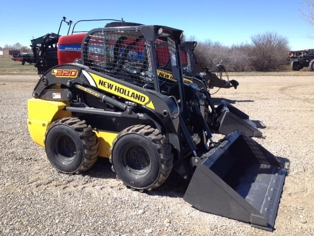 2017 New Holland L220-T4B Skid Steer For Sale
