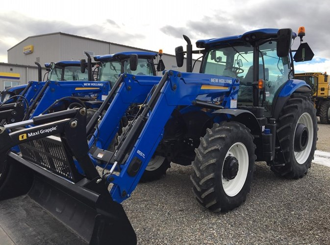 2017 New Holland T7.210 PWR COMM CLASSIC Tractor For Sale