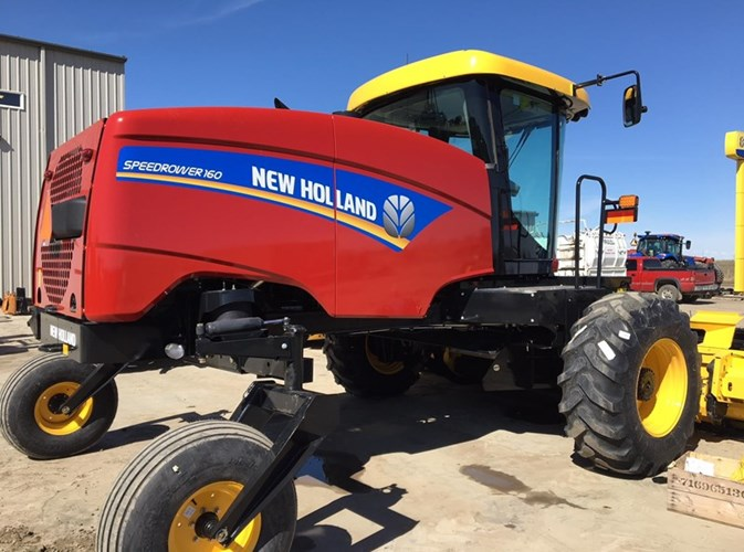 2017 New Holland SPEEDROWER_160 Windrower For Sale